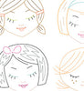 CUTE LITTLE HEADS - Embroidery Patterns