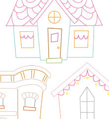 DREAM HOMES - Embroidery Patterns