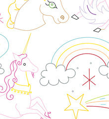 UNICORN BELIEVER - Embroidery Patterns