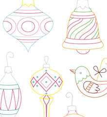 VINTAGE ORNAMENTS - Embroidery Patterns