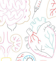 VITAL ORGANS - Embroidery Patterns