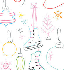 SMALL PACK Embroidery Patterns -  WINTERLAND