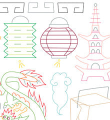 CHINATOWN - Embroidery Patterns