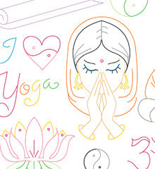 OM SWEET OM - Embroidery Patterns