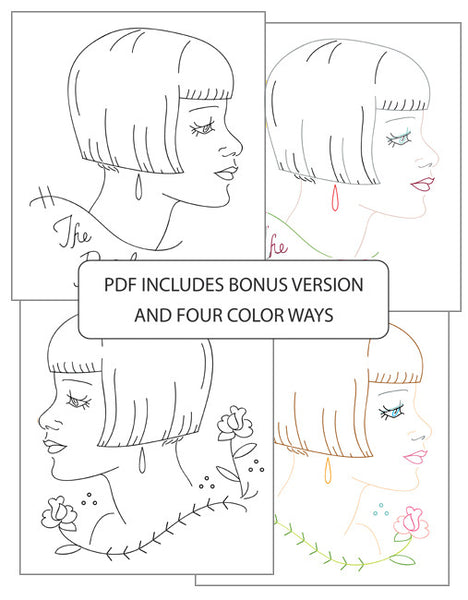 Hairstyles Series | The Bob - PDF Pattern