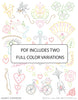 Embroidery Patterns HANKY CORNERS