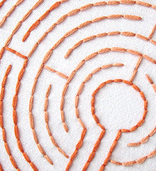 LABYRINTHS - 1 Theme Embroidery Patterns