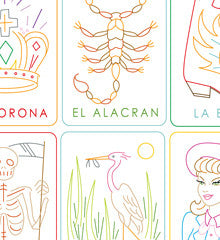 Embroidery Patterns LOTERIA 2