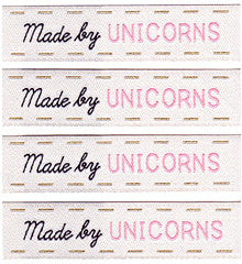 Woven Labels - Made By Unicorns