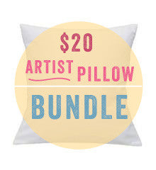 Artist Series EMBROIDERY PILLOW BUNDLE