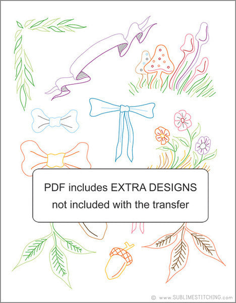 RYAN BERKLEY - 1 Theme Embroidery Patterns