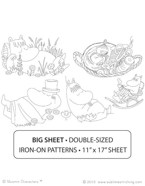 Sleepy Moomins - Big Sheet