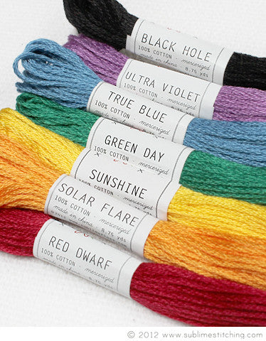 RAINBOW - Sublime Embroidery Floss Palette