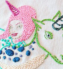 SMALL PACK Embroidery Patterns -  TARA MCPHERSON