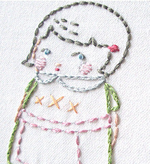 SMALL PACK Embroidery Patterns -  THE BLACK APPLE