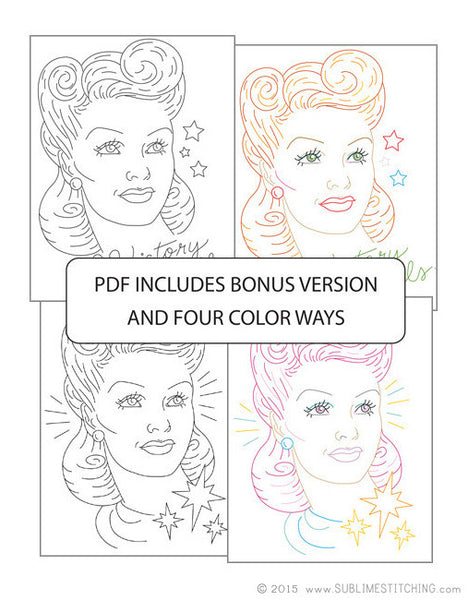 Hairstyles Series | Victory Rolls - PDF