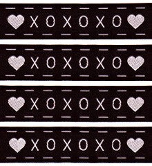 Woven Labels - X O X O