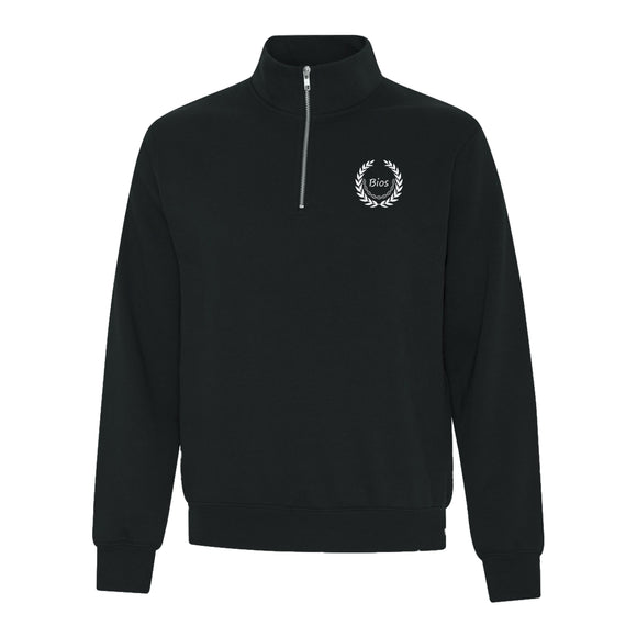 Bios Unisex Fleece 1/4 Zip Sweatshirt - BiosClothing.com
