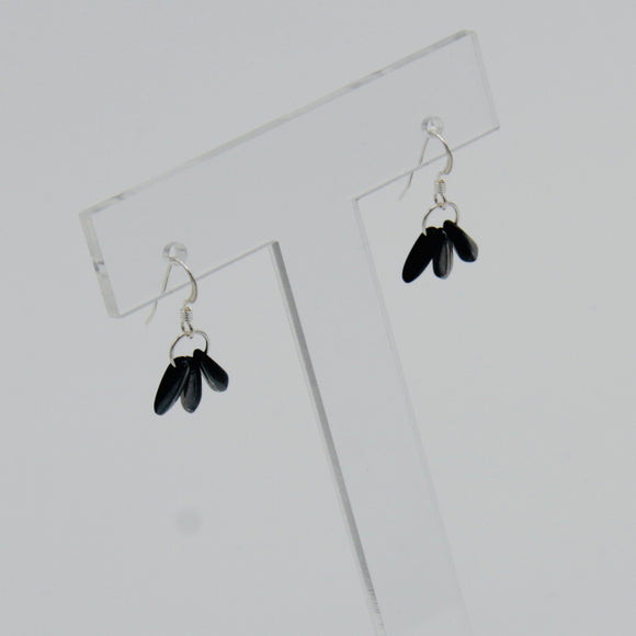 Janet Earrings in Black