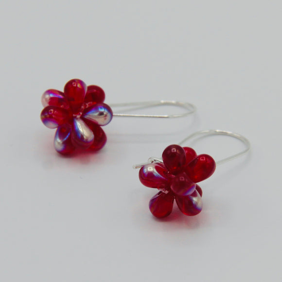 Tami Earrings in Shiny Red