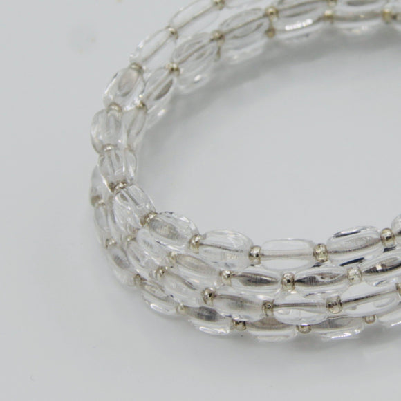 Whitney Bracelet in Silver Crystal