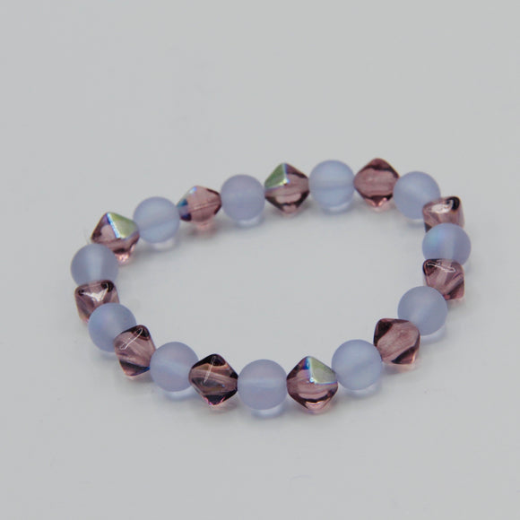 Shayna Girl's Bracelet in Purple - Size Small