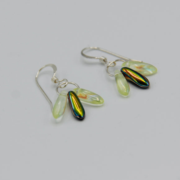 Janet Earrings in Illuminating and Rainbow