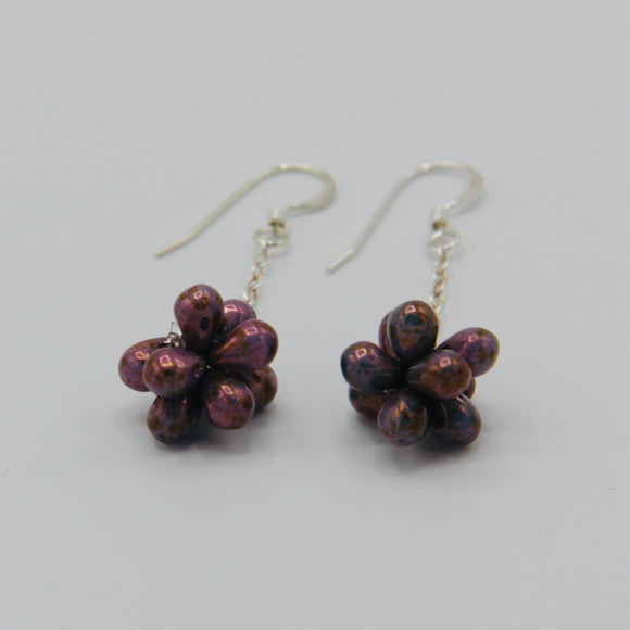 Tanika Earrings in Dark Brown