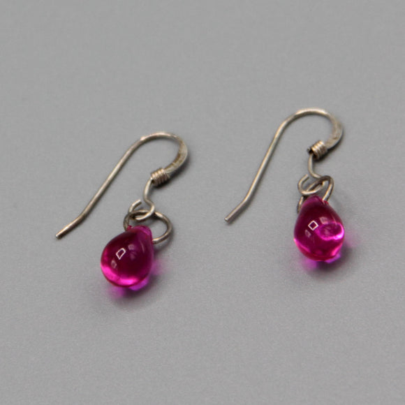 Kate Earrings in Bright Pink
