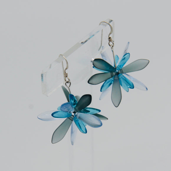 Emma Earrings in Blue