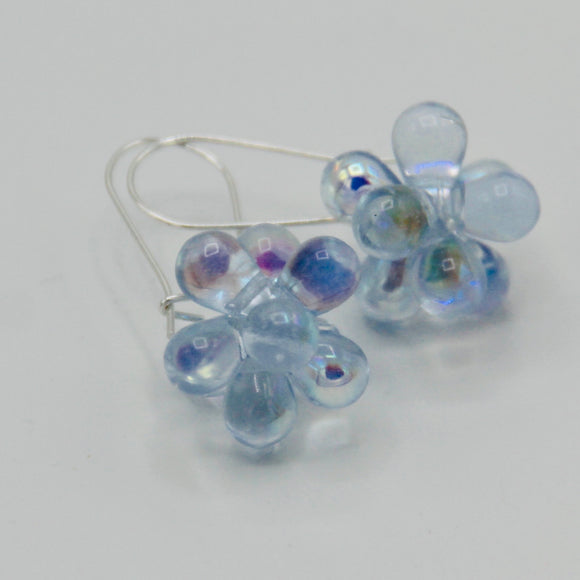Tracy Earrings in Shiny Light Blue