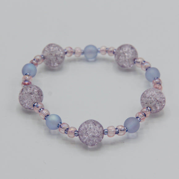 Shayna Girl's Bracelet in Light Purple - Size Large