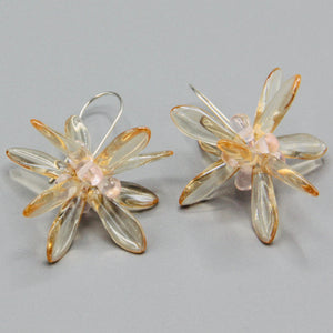 Eileen Earrings in Crystal Cream