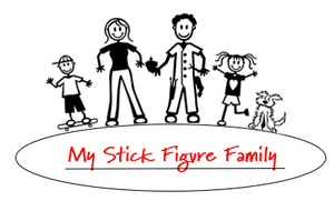 My Stick Figure Family