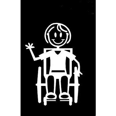 Girl Wheel Chair Assisted G14