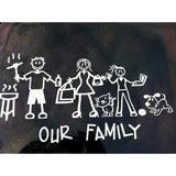 """Our Family"" Text Sticker"