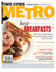 Twin Cities Metro Magazine Cover - January 2012
