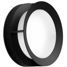 Philips Actea 12W LED Round Outdoor Wall Light Black - Warm White - 915005554301