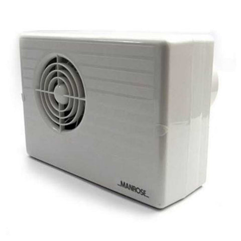 Manrose 25W Wall or Ceiling Centrifugal Fan - CF200LV
