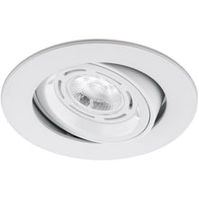 Aurora Aluminium Adjustable GU10 Halogen Downlight - DLM357 Satin Nickel