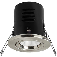 Megaman 8W Integrated Fire Rated Downlight VERSOFIT Fixed - Cool White (Chrome Finish)