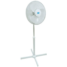 Premiair 16inch. White Oscillating Pedestal Fan - EH0527