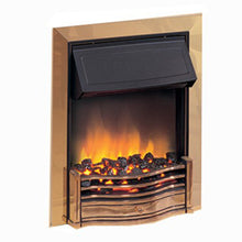 Dimplex Danesbury Inset Fire (Brass Effect Finish) - DAN20