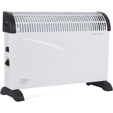 Hyco Scirocco Modern 2000W (2.0kW) Heater with 3 Settings, Adjustable Thermostat & Timer - SC2000YMT/DMT