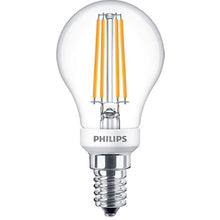 Philips LEDLuster 5W=40W Golf Ball Dimmable Very Warm White - Small Edison Screw (SES/E14)
