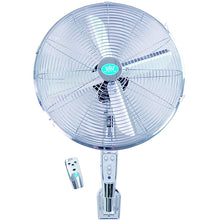 Premiair 16 Chrome Wall Fan with Remote Control And Timer - EH1574