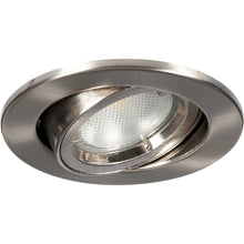 Megaman Alina GU10 Fire Rated Adjustable Downlight - Fixture Only - Satin Chrome