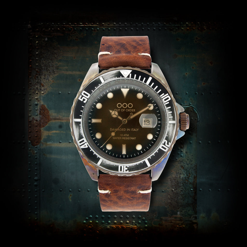 Dark Brown ø44 mm