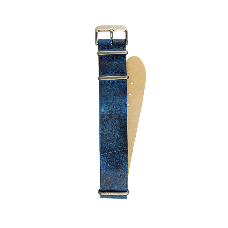Blue Military Strap 22mm