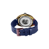 Torpedine 3H Ocean Blue Leather Band